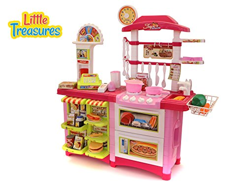 Kitchen fast food centre 59 pieces fast food excellent for Kitchen set games