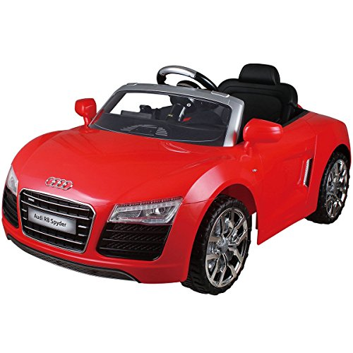 Costzon Audi R8 Spyder 12V Electric Kids Ride On Car Licensed MP3 RC Remote Control Red