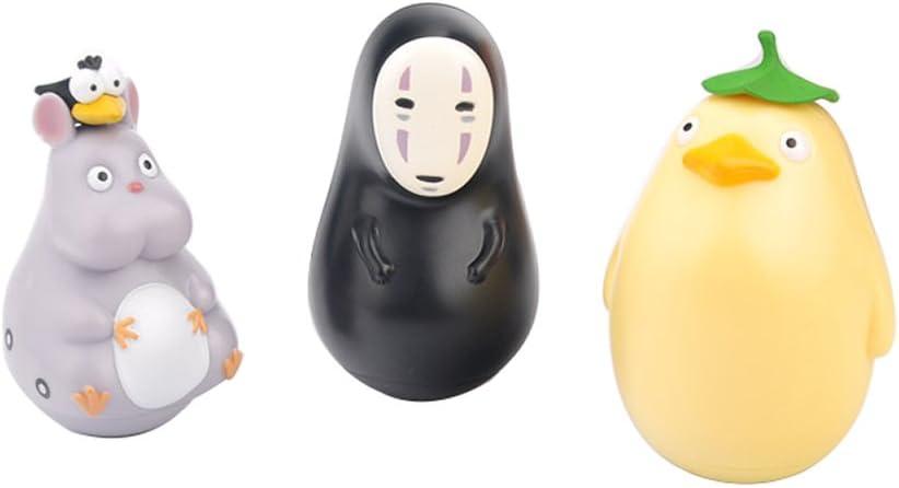 Amazon Com Wildforlife Spirited Away No Face Boh Mouse Ootori Sama Chicken Tumbler Decor Toy Toys Games