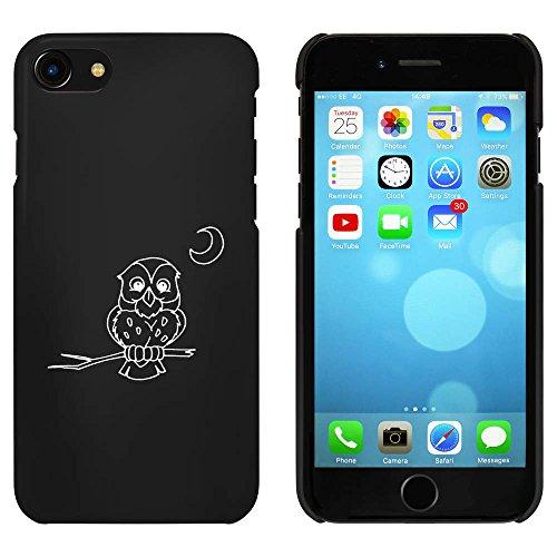 Noir 'Oiseau de Nuit' étui / housse pour iPhone 7 (MC00069133)