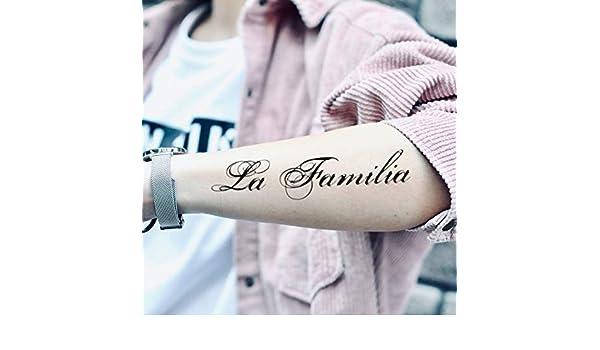 Tatuaje Temporal de La familia (2 Piezas) - www.ohmytat.com ...