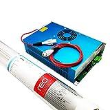 RECI 130W Peak 150W CO2 Laser Tube W6 S6 12 Months Warranty & Power Supply DY20 220V
