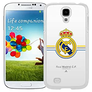 Beautiful Samsung Galaxy S4 Case ,Unique And Lovely Designed With Real Madrid White Samsung Galaxy S4 Phone Case
