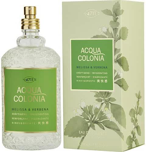 4711 ACQUA COLONIA by 4711 MELISSA & VERBENA EAU DE COLOGNE SPRAY 5.7 OZ for WOMEN ---(Package Of 2)