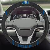 FANMATS NCAA Duke University Blue Devils Polyester Steering Wheel Cover