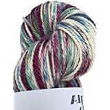 Hand Dyed Alpaca Silk Yarn, Hand Painted: Mezmorize, Dk Weight, 100 Grams, 245 Yards, 70/30 Baby Alpaca/Silk