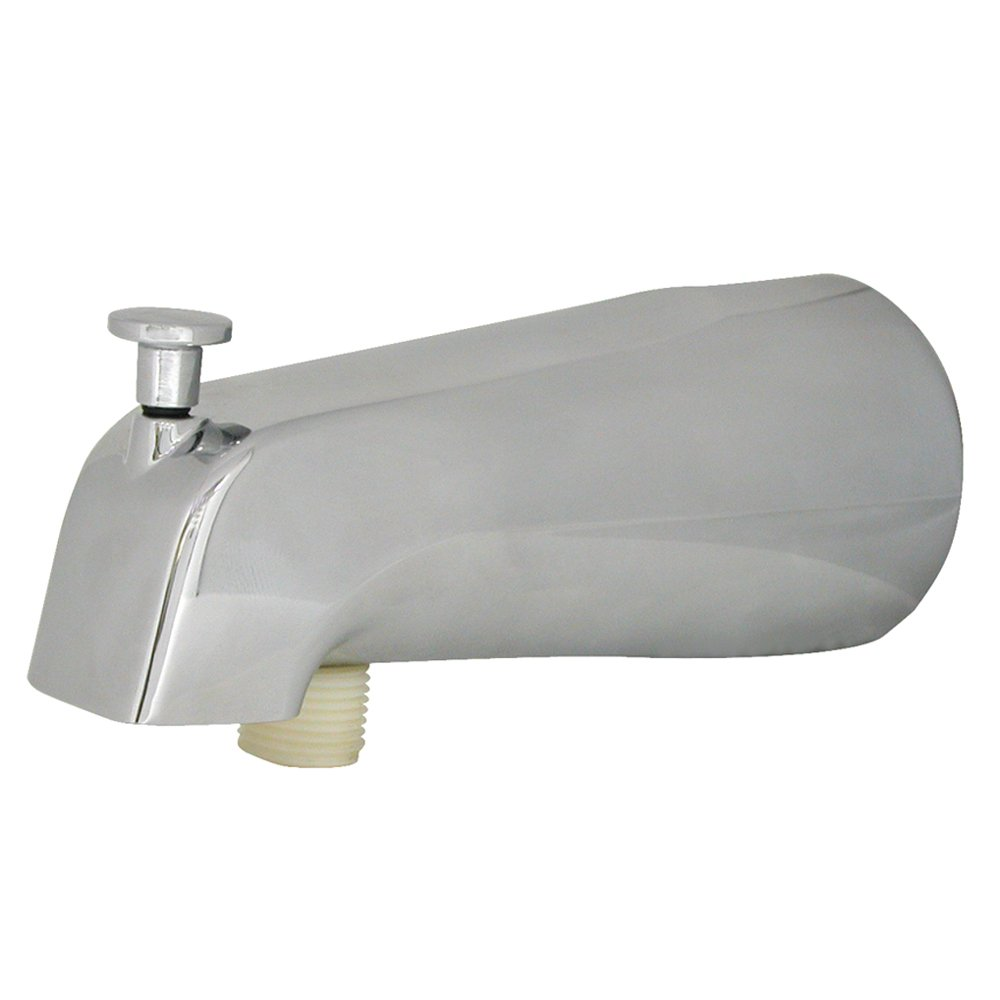 DANCO Universal Tub Spout With Diverter, Chrome, 1 Pack (89266)   Faucet  Spouts And Kits   Amazon.com