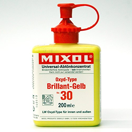 Lacquer Oxide - Mixol Universal Tints, Oxide Brilliant Yellow, #30, 200ml