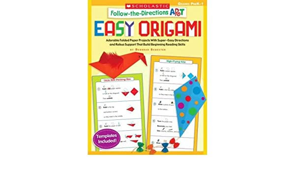 Follow The Directions Art Easy Origami Adorable Folded Paper