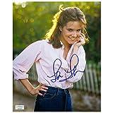 Lea Thompson Autographed 8×10 Garden Photo
