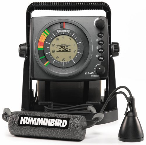 Dual Frequency Color Lcd Fishfinder (Humminbird ICE-45 Three Color Flasher with LCD)