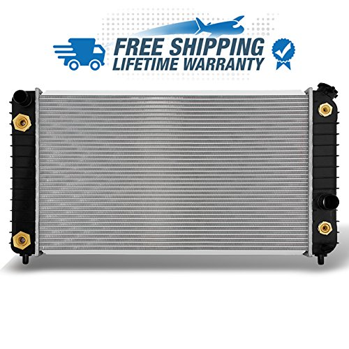 (For V6 4.3L Chevy Blazer S10 R15 GMC Jimmy Sonoma Bravada Aluminum Radiator Direct Bolt On Replacement 1826)