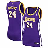 Kobe Bryant Purple adidas Revolution 30 Replica Los Angeles Lakers Women's Jersey