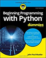 Beginning Programming with Python For Dummies, 2nd Edition Front Cover