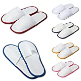 NBellShop 1 Pair Hotel Travel Disposable Slippers Home Guest Slippers