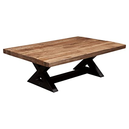 Amazoncom Ashley Furniture Signature Design Wesling Coffee Table - Rectangular cocktail table by ashley furniture