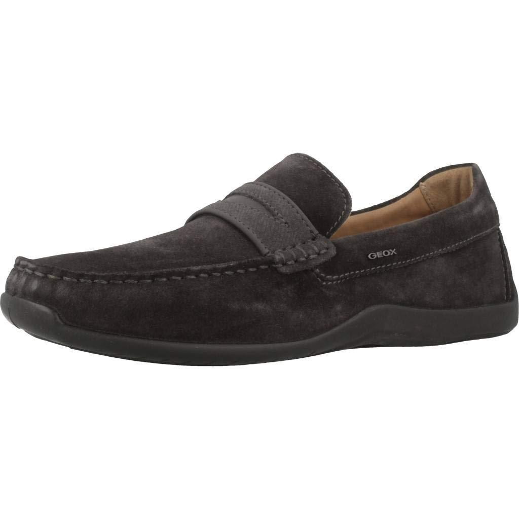 Geox Xense Mocasines para Hombre Negro U64D3AC9004: Amazon.es: Zapatos y complementos