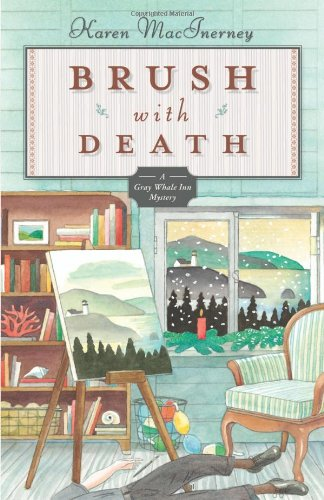 Price comparison product image Brush with Death (The Gray Whale Inn Mysteries)