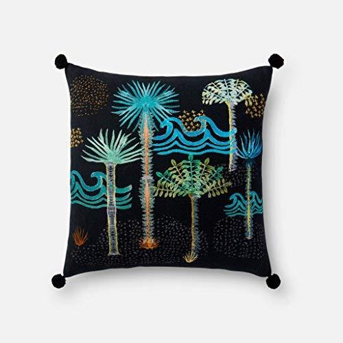 Loloi DSET Black/Multi Decorative Accent Pillow 18