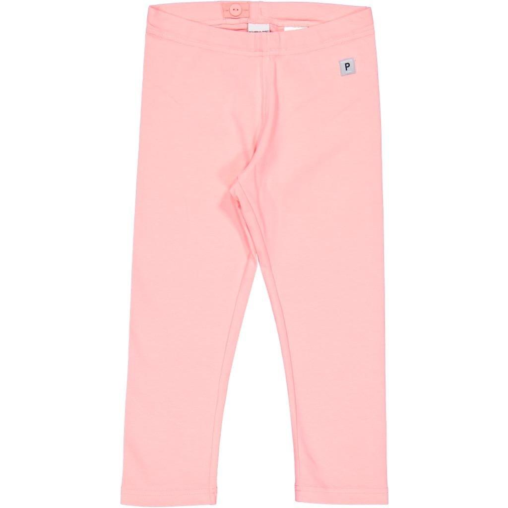 Polarn O. Pyret ECO Crop Leggings (6-12YRS) - 6-8 Years/Flamingo Pink