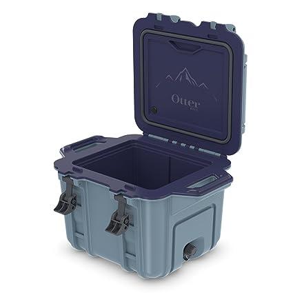 buy online 84b05 f759d OtterBox Venture Cooler 25 Quart - Shoreline (Citadel Blue/Patriot Blue)