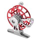 ULKEME Fishing Reels Ultra-light Former Ice Wheel Fly Fishing Reel CNC Aluminum New