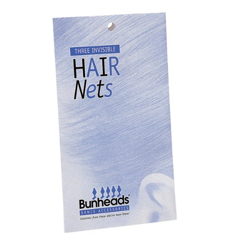[Hair Nets (Blonde)] (Invisible Hair Net)