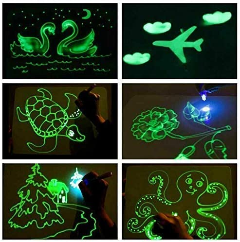 1 Set Draw with Light-Fun and Developing Toy