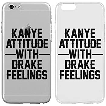 d7a00e3e94 Case for iPhone 7 - Cream Cookies - Ultra Slim Hard Plastic Cover Case -  Kanye Attitude With Drake Feelings - Cute Quotes - Sassy Phone Case