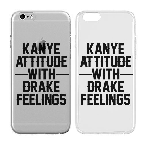 Case for iPhone 6/6S - Cream Cookies - Ultra Slim Hard Plastic Cover Case - Kanye Attitude With Drake Feelings - Cute Quotes - Sassy Phone Case