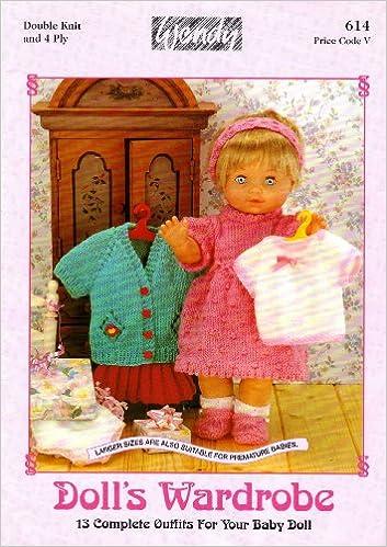 Wendy Dolls Wardrobe Dolls Clothes Knitting Pattern Booklet 13