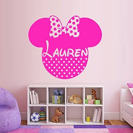 Write Your Name Wall Decal Vinyl Sticker Decals Art Decor Disney Custom Baby Name Head Mice  sc 1 st  Amazon.com & Amazon.com: Write Your Name Wall Decal Vinyl Sticker Decals Art ...