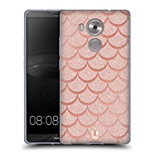 Head Case Designs Rose Gold Mermaid Scales Soft Gel Case for Huawei Y6 / Honor 4A