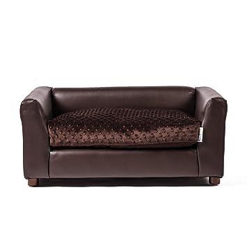 Keet Fluffly Deluxe Pet cama, sofá gris, pequeña: Amazon.es: Productos para mascotas