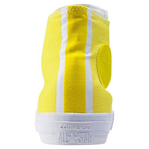 Converse Unisex-Erwachsene Chuck Taylor All Star II Hohe Sneaker Yellow White