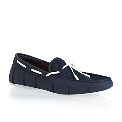 8c8bb781d2d SWIMS Men s Braided Lace Loafer Navy 8 ...