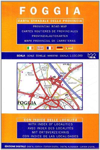 Foggia 1:150.000 (Carte stradali) por Litografia Artistica Cartografica (LAC)