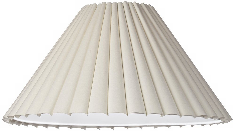 Box pleat lamp shade 7x205x125 spider lampshades amazon mozeypictures Images