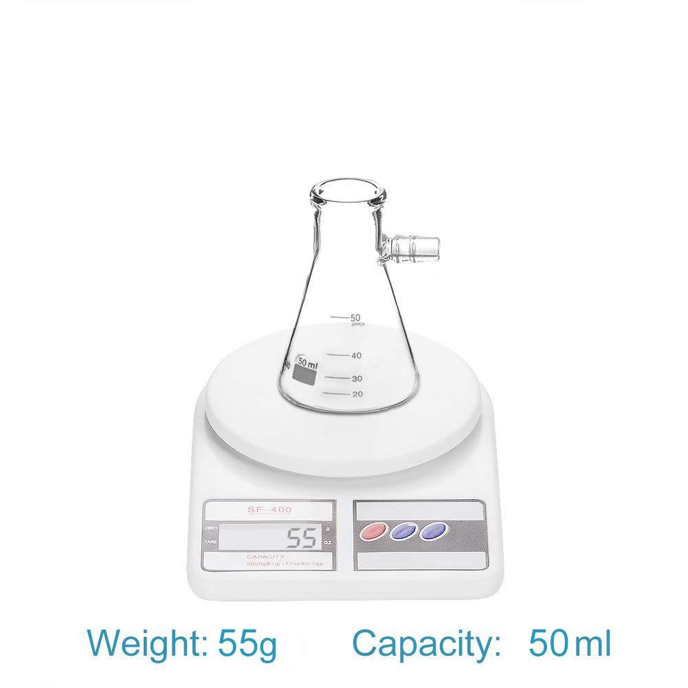 Boulon du cou avec Tubulation Glass Filtering Flask Filtrage de Laboratoire 1000ml StonyLab Verre Borosilicate Filtrage Flasque