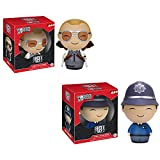 Dorbz: Hot Fuzz Nicholas Angel and Danny Butterman Set of 2