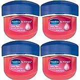 Vaseline Lip Therapy Rosy Lips, 0.25 oz, 4 pk