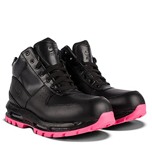 NIKE AIR Max Goadome (GS) Girls Fashion-Sneakers 311567-006_3.5Y - Black/Black-Hyper Pink