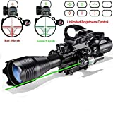 Best Ar 15 Scopes - Hunting AR15 Tactical Rifle Scope Combo C4-16x50EG Review