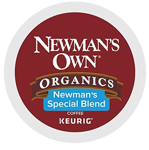 - Newman's Own Special Blend Coffee Single-Serve K-Cups, 80 Count (Packaging May Vary)