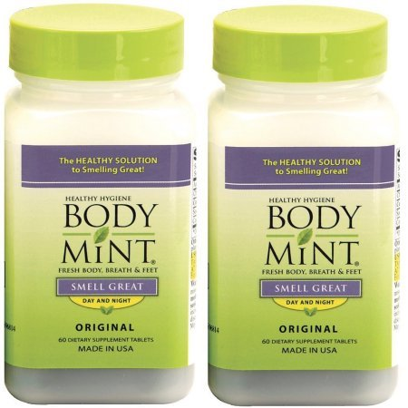 BodyMint, 60-Count Bottles (Pack of 2)