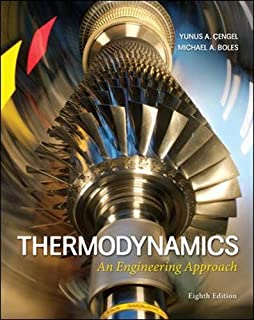 Thermodynamics: An Engineering Approach (0073398179) | Amazon Products