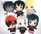 D.gray-man Hallow Plush Doll x6 Allen Lavi Lenalee Kanda Howard Tyki Anime F/S