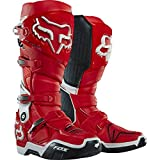 Fox Racing Instinct Men's MX/Off-Road/Dirt Motorcycle Boots - Red/White / Size 9