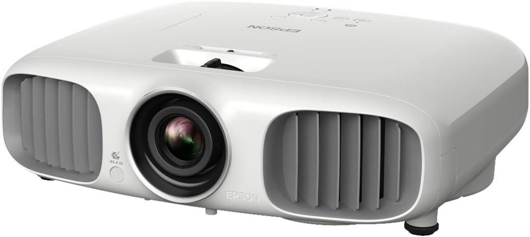Epson EH-TW6000W - Proyector LCD 3D (conexión inalámbrica WiHD, contraste de 40000:1, 2200 lúmenes ANSI, full HD, 1920 x 1080 píxeles), color blanco [Importado de Alemania]