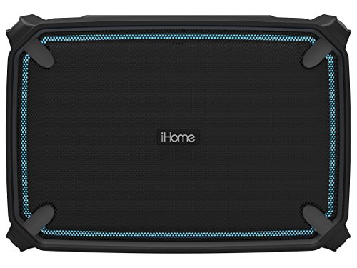 iHome iBT374 Portable Bluetooth Speaker Black/gray IBT374BGC